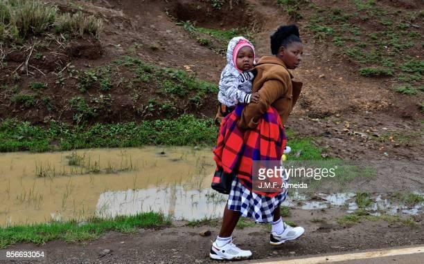 Kenyan mother