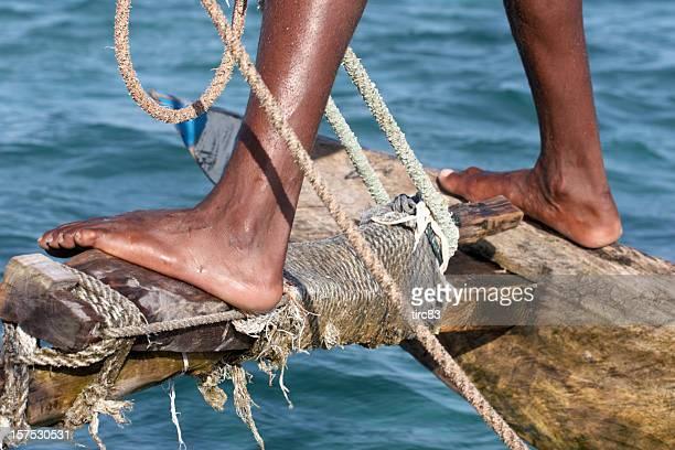 Kenyan marin carrés Foyer
