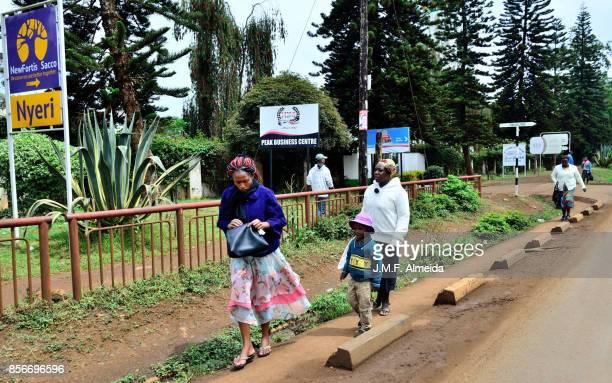 Kenyan Women  and child