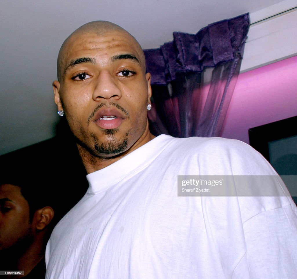 <a gi-track='captionPersonalityLinkClicked' href=/galleries/search?phrase=Kenyon+Martin&family=editorial&specificpeople=201522 ng-click='$event.stopPropagation()'>Kenyon Martin</a> of the New Jersey Nets during Celebrity Guests at Byrd vs Golota Fight at Madison Square Garden in New York City, New York, United States.