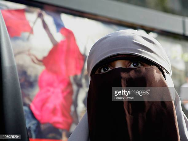 Kenza Drider announces her candidacy for France's 2012 Presidential election on September 22 2011 in Meaux France Drider is the first French Muslim...