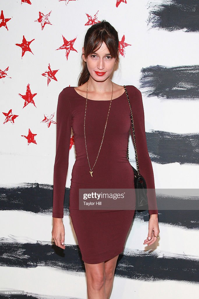 <a gi-track='captionPersonalityLinkClicked' href=/galleries/search?phrase=Kenza+Fourati&family=editorial&specificpeople=7494343 ng-click='$event.stopPropagation()'>Kenza Fourati</a> attends the Alice + Olivia By Stacey Bendet Spring 2013 Mercedes-Benz Fashion Week Show at Century 548 on September 10, 2012 in New York City.
