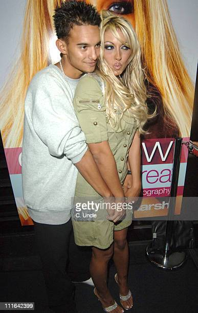 Kenzie and Jodie Marsh during Jodie Marsh 'Keeping It Real' Book Launch Party at The Penthouse Leicester Square in London Great Britain