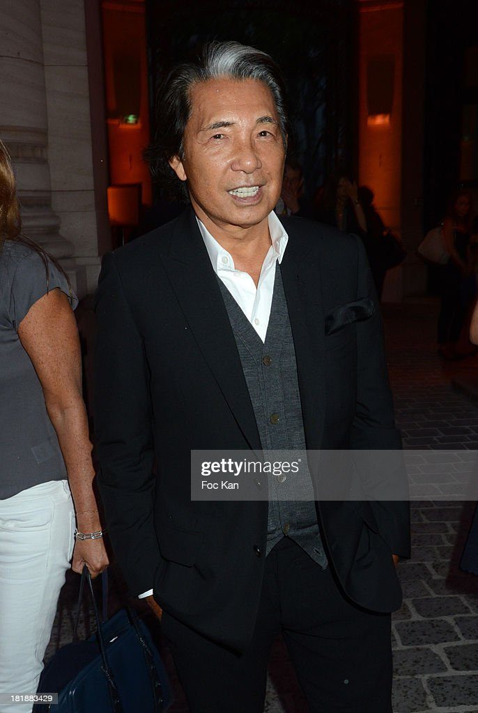 Kenzo attends the Azzedine Alaia Exhibition : At Palais Galliera, Fashion Museum In Paris on September 25, 2013 in Paris, France.