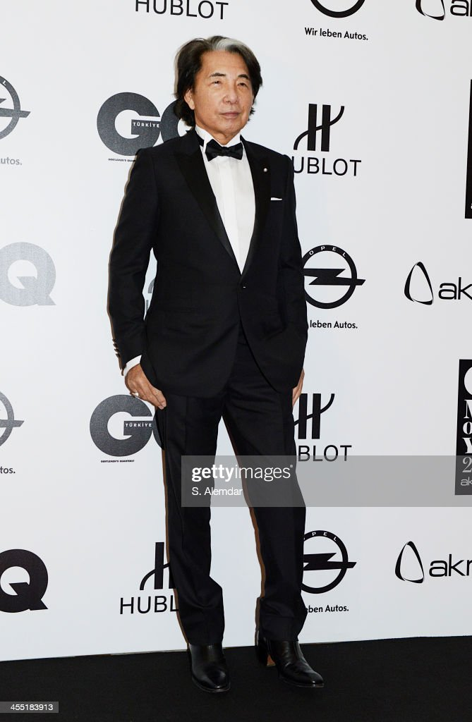 Kenzo Takada attends the GQ Turkey Men of the Year awards at Four Seasons Bosphorus Hotel on December 11, 2013 in Istanbul, Turkey.