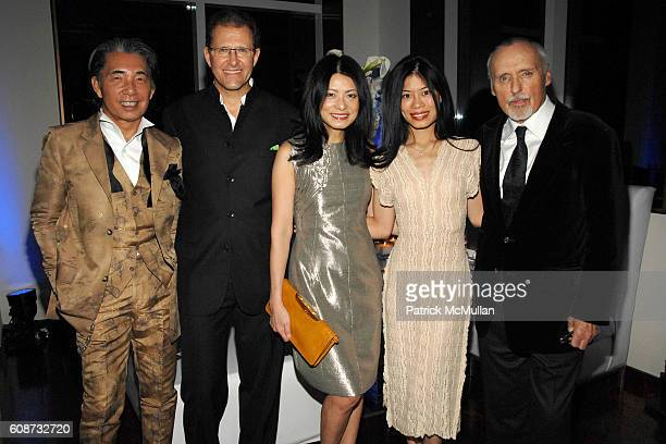 Kenzo Takada Edouard Ettedgui Vivienne Tam Vanessa Mae and Dennis Hopper attend MANDARIN ORIENTAL HOTEL GROUP Party for the SOTHEBY'S Contemporary...
