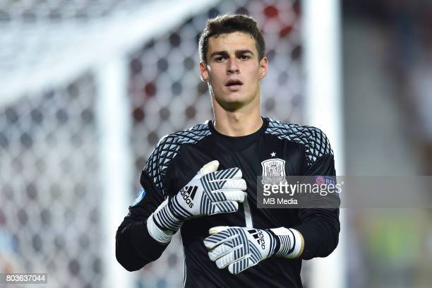 Kepa Arrizabalaga during the UEFA European Under21 match between Spain and Italy on June 27 2017 in Krakow Poland