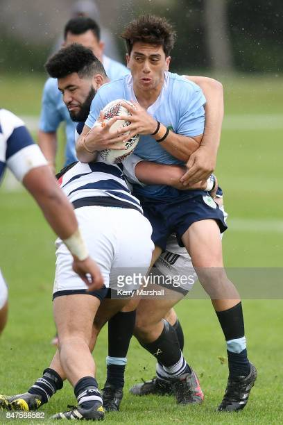 Kepa Wiki of Northland in action during the Jock Hobbs Memorial Tournament match between Northland and Auckland Development on September 16 2017 in...
