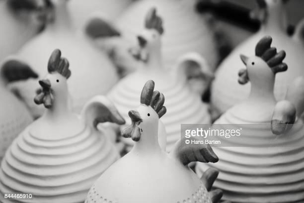 Keramische kippen