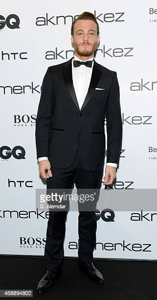 Kerem Bursin attends the GQ Turkey Men of the Year awards at Four Season Bosphorus Hotel on November 12 2014 in Istanbul Turkey