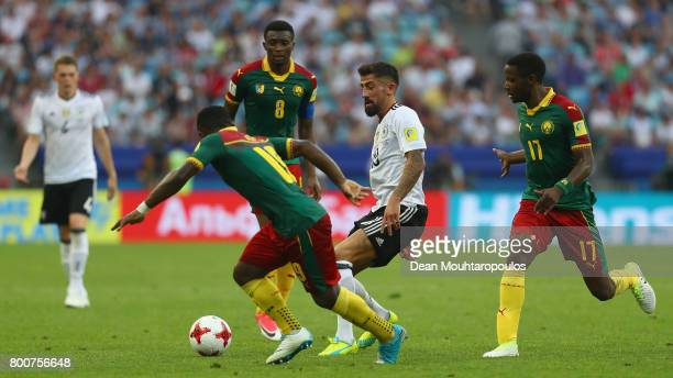 Kerem Demirbay of Germany in action during the FIFA Confederations Cup Russia 2017 Group B match between Germany and Cameroon at Fisht Olympic...