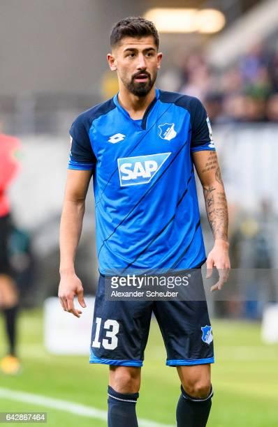 Kerem Demirbay of Hoffenheim in action during the Bundesliga match between TSG 1899 Hoffenheim and SV Darmstadt 98 at Wirsol RheinNeckarArena on...