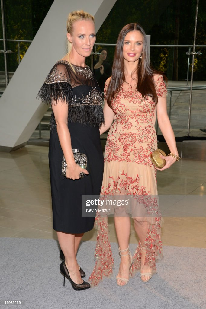 Keren Craig and Georgina Chapman attends 2013 CFDA Fashion Awards at Alice Tully Hall on June 3, 2013 in New York City.