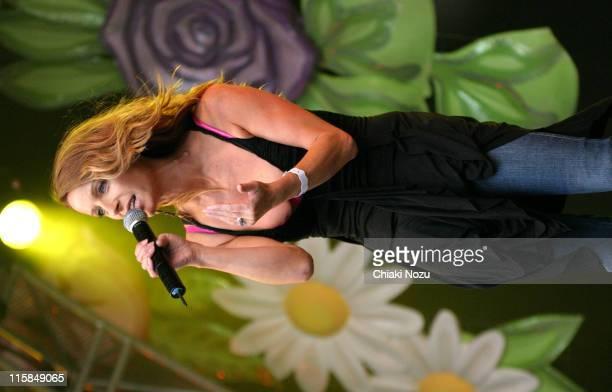 Keren Woodward of Bananarama during 2005 Big Gay Out Concert at Finsbury Park in London Great Britain