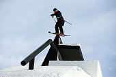 Keri Herman of the United States competes in the FIS Freestyle Ski World Cup Slopestyle Finals during the Winter Games NZ at Cardrona Alpine Resort...