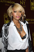Keri Hilson arrives at the 16th Annual Critic's Choice Awards official after party held at Siren Studios on January 14 2011 in Hollywood California