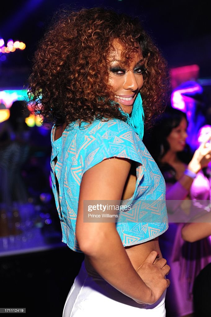 Keri Hilson attends party hosted by Fabolous and Cassie at Prive on June 21, 2013 in Atlanta, Georgia.