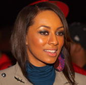 Keri Hilson attends the 3rd annual Thanksgiving Carnival at the Greenbriar Mall on November 24 2009 in Atlanta Georgia