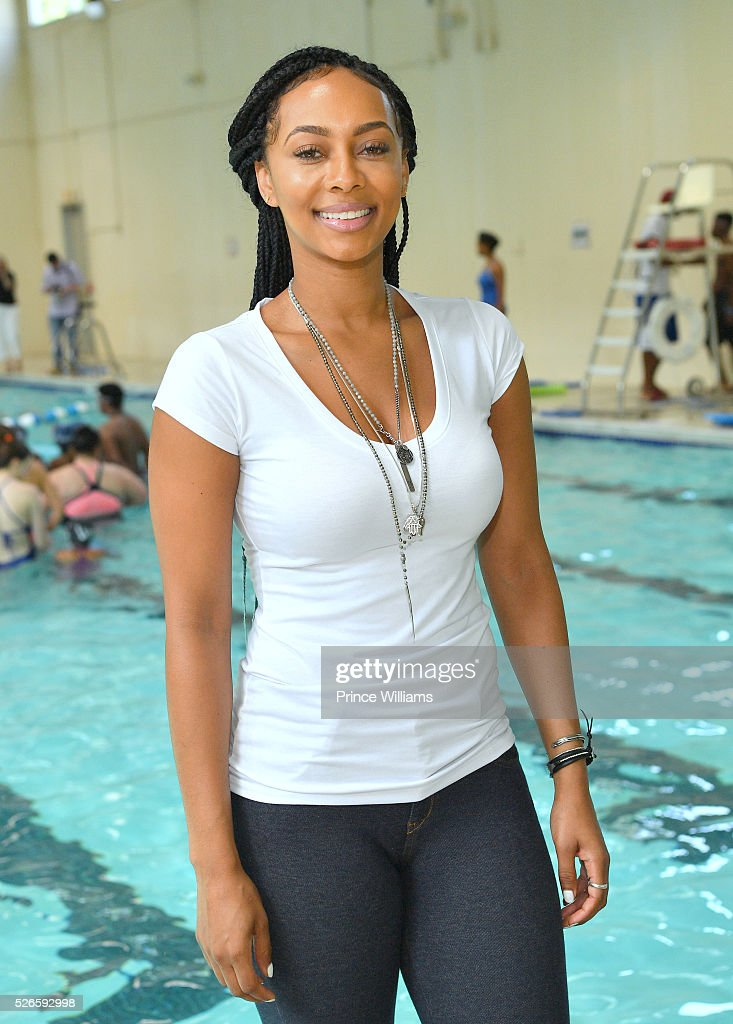 <a gi-track='captionPersonalityLinkClicked' href=/galleries/search?phrase=Keri+Hilson&family=editorial&specificpeople=4340776 ng-click='$event.stopPropagation()'>Keri Hilson</a> attends water safety and fitness at Carrie Steele Pitts Life Learning Center on April 30, 2016 in Atlanta, Georgia.