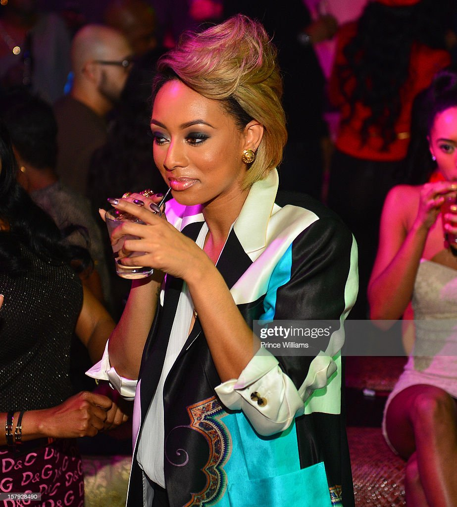 Keri Hison attends the birthday celebration of Keri Hilson at Vanquish on December 6, 2012 in Atlanta, Georgia.