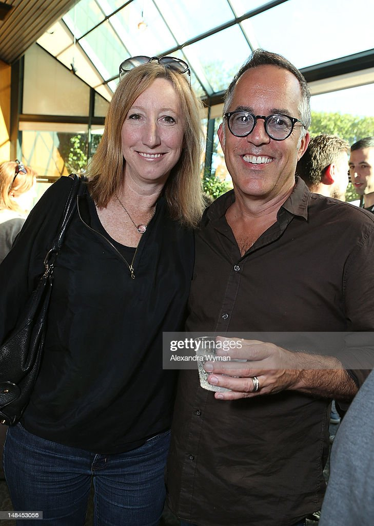Keri Putnam and John Cooper at The Sundance Alumni Event At Outfest Festival held at The DGA Theater on July 16, 2012 in Los Angeles, California.