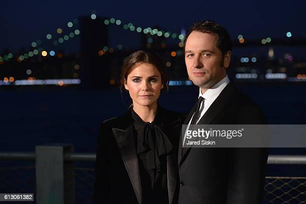 Keri Russell and Matthew Rhys attend the Brooklyn Bridge Park Conservancy hosts the Brooklyn Black Tie Ball at Pier 2 at Brooklyn Bridge Park on...