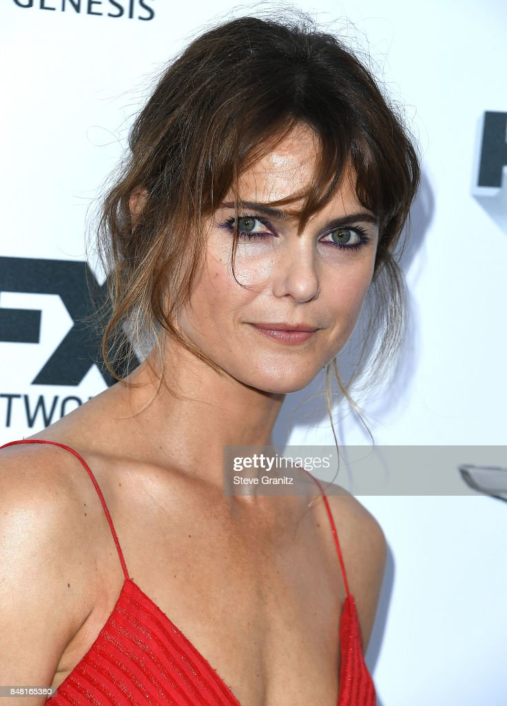 Keri Russell arrives at the FX and Vanity Fair Emmy Celebration at Craft on September 16, 2017 in Century City, California.