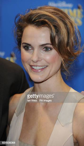 Keri Russell arrives at the premiere of Bedtime Stories at the Odeon cinema in Kensington central London