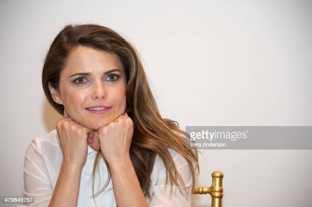 Keri Russell at 'The Americans' Press Conference at the Russian Tea Room on March 18 2014 in New York City