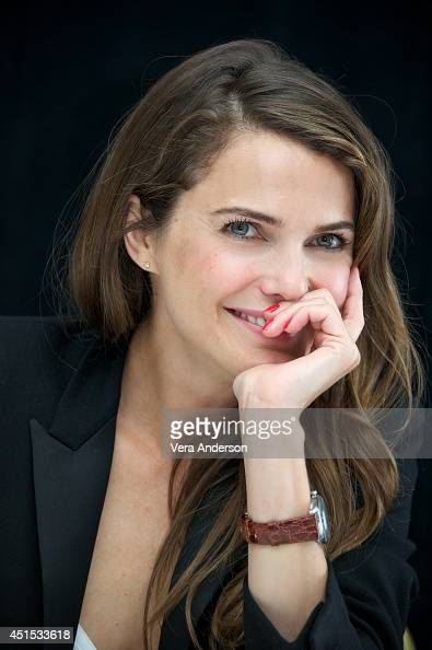 Keri Russell at the 'Dawn Of The Planet Of The Apes' Press Conference at the Ritz Carlton Hotel on June 27 2014 in San Francisco California
