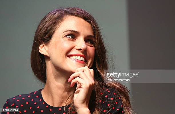 Keri Russell attends Meet The Filmmakers 'Austenland' at the Apple Store Soho on August 13 2013 in New York City