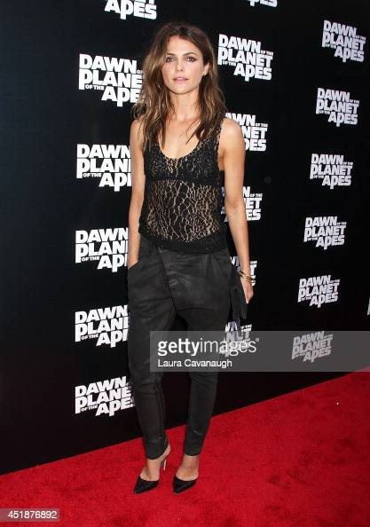 Keri Russell attends the 'Dawn Of The Planets Of The Apes' premiere at Williamsburg Cinemas on July 8 2014 in New York City