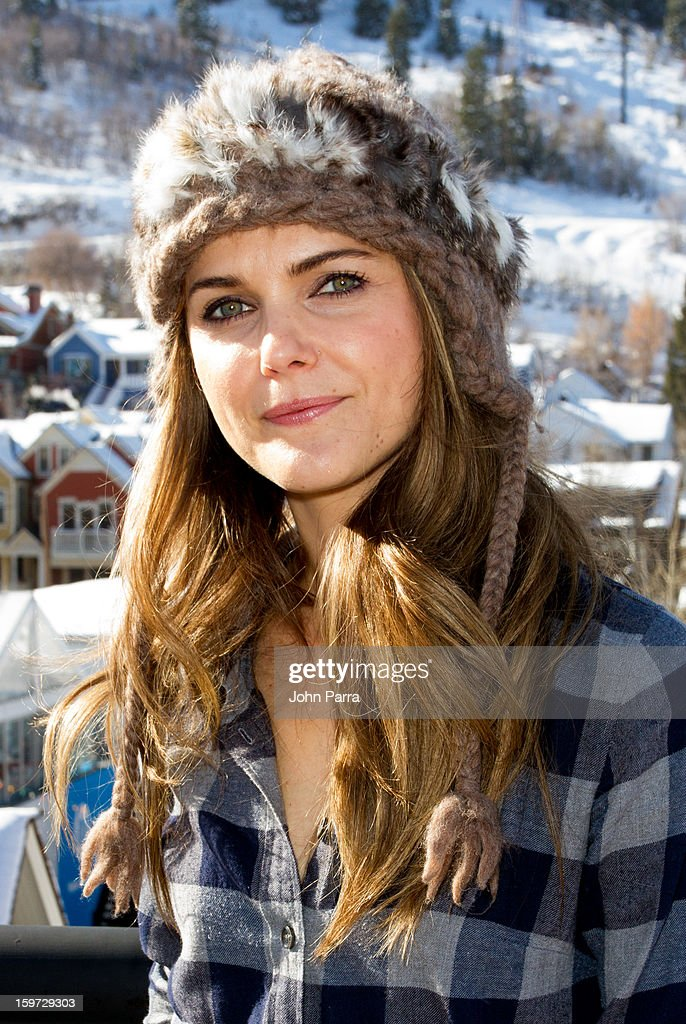 Keri Russell attends the Nikki Beach pop-up lounge & restaurant at Sundance on January 19, 2013 in Park City, Utah.