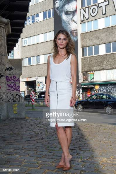 Keri Russell attends the photocall for the film 'Dawn of the Planet of the Apes' on July 18 2014 at Oberbaumbruecke in Berlin Germany