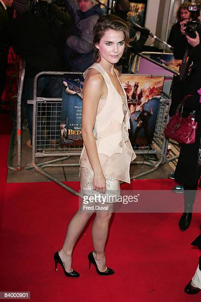 Keri Russell attends the UK Premiere of Bedtime Stories at Odeon Kensington on December 11 2008 in London England