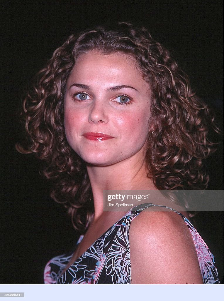Keri Russell during 2001 WB Television Network Uprfront All-Star Party at The light House Chelsea Piers, Pier 61 in New York City, New York, United States.