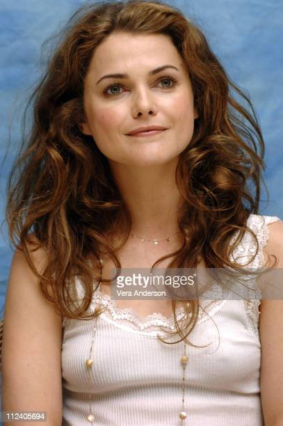 Keri Russell during 'Into The West' Press Conference with Matthew Settle Tonantzin Carmelo Skeet Ulrich Keri Russell Rachael Leigh Cook and Michael...