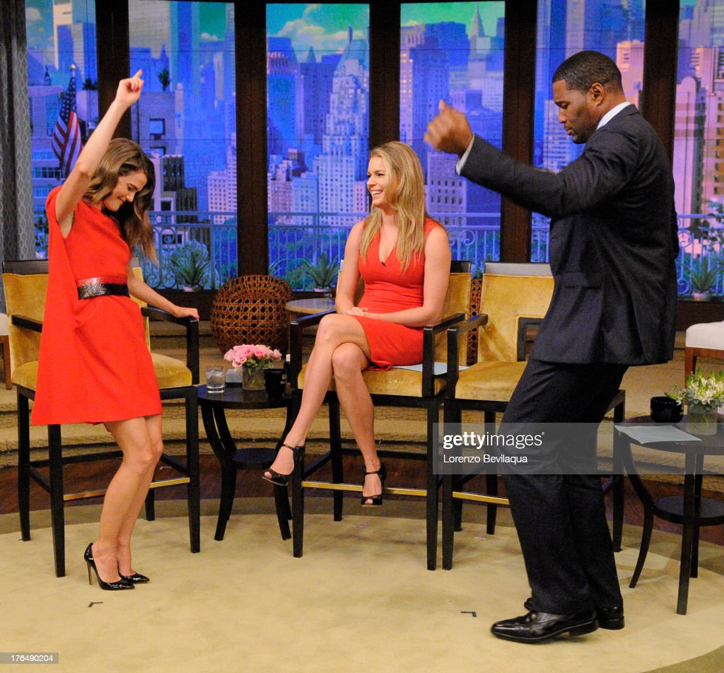 MICHAEL -8/13/13 - Keri Russell is a guest on 'LIVE with Kelly and Michael,' distributed by Disney-ABC Domestic Television. STRAHAN
