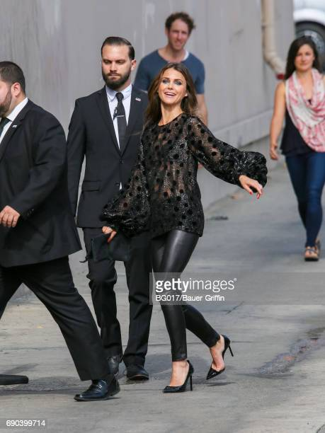 Keri Russell is seen at 'Jimmy Kimmel Live' on May 30 2017 in Los Angeles California
