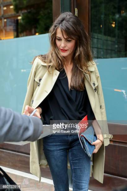 Keri Russell is seen on June 05 2017 in New York City