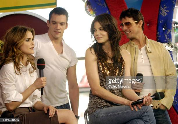 Keri Russell Jonathan Rhys Meyers Michelle Monaghan and Tom Cruise