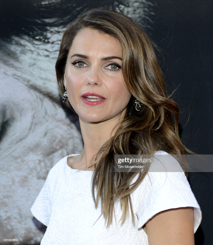 <a gi-track='captionPersonalityLinkClicked' href=/galleries/search?phrase=Keri+Russell&family=editorial&specificpeople=203250 ng-click='$event.stopPropagation()'>Keri Russell</a> poses at the premiere of 20th Century Fox's 'Dawn of the Planet of the Apes' at the Palace Of Fine Arts Theater on June 26, 2014 in San Francisco, California.