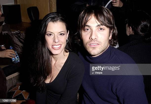 Keri Selig Luca Calvani at the Chrysler Million Dollar Film Festival Party at the Chrysler Lodge