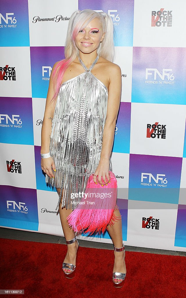 Kerli arrives at the 16th Annual 'Friends And Family' pre-GRAMMY event held at Paramount Studios on February 8, 2013 in Hollywood, California.