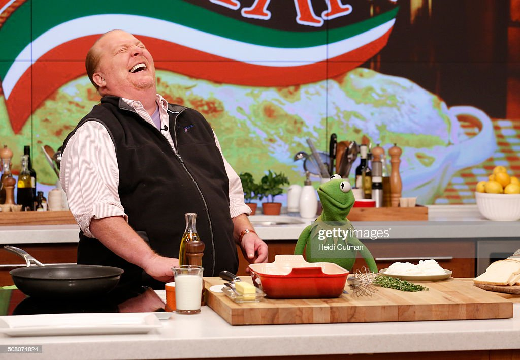 THE CHEW Kermit the Frog appears on 'The Chew' today Tuesday February 2 2016 THE CHEW airs MONDAY FRIDAY on the ABC Television Network FROG
