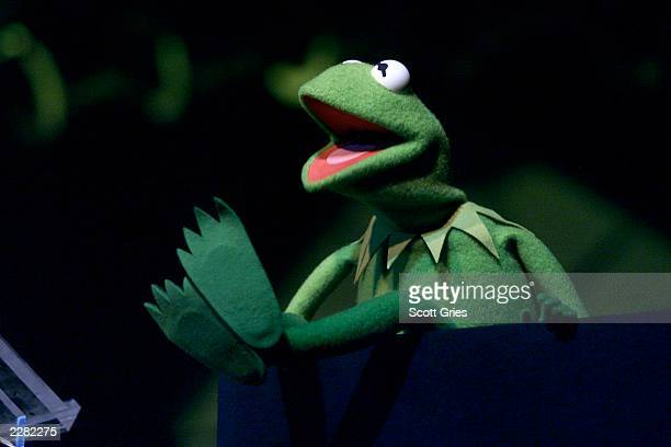 Kermit the Frog at the Songwriters Hall of Fame 32nd Annual Awards at The Sheraton New York Hotel and Towers in New York City on June 14 2001 Photo...