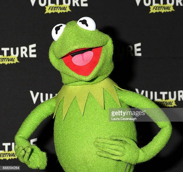 Kermit the Frog attends Morning With The Muppets 2016 Vulture Festival at Milk Studios on May 21 2016 in New York City