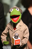 Kermit the Frog during 2006 TV Land Awards Backstage and Audience at Barker Hangar in Santa Monica California United States