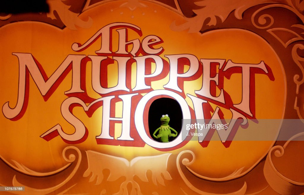 Kermit The Frog performs during the 25th Anniversary of The Muppet Show at the Palace Theater in Hollywood