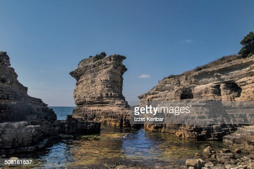 Kerpe Rocks in Kocaeli